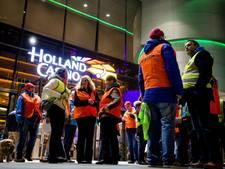 Personeel Holland Casino staakt weer voor nieuwe CAO