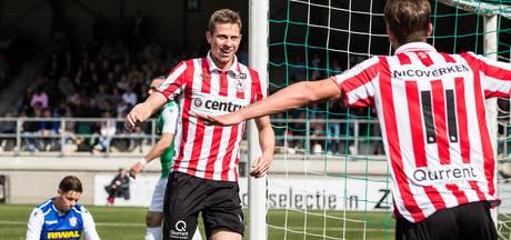 Sparta begint play-offs goed ondanks bizar eigen doelpunt
