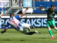 Heerenveen ondanks knotsgekke nederlaag tegen Feyenoord naar play-offs