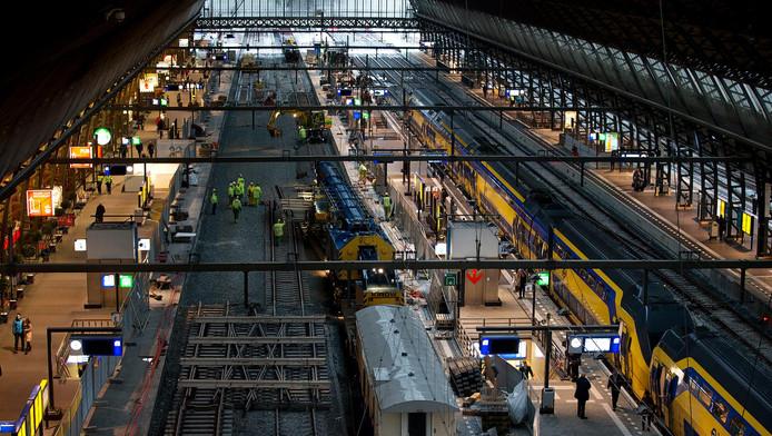 Archieffoto van het Centraal Station