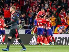 Atlético maakt einde aan Europese droom Wenger en Arsenal
