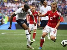 Denemarken volgt Frankrijk naar knock-outfase na eerste 0-0 op WK
